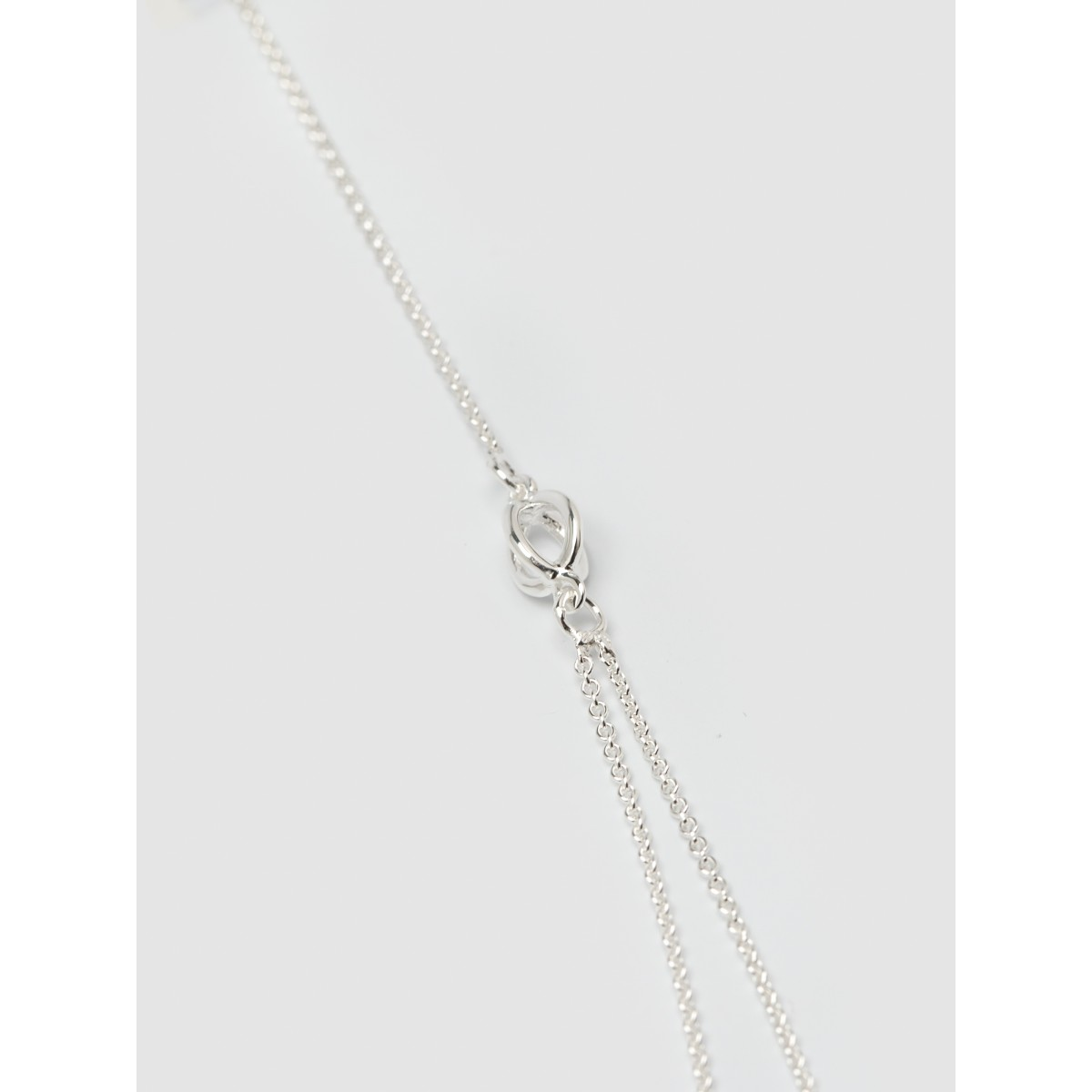 Jonathan Radetz Jewellery, Kette KISSKISS TWO, Länge 43cm Silber 925