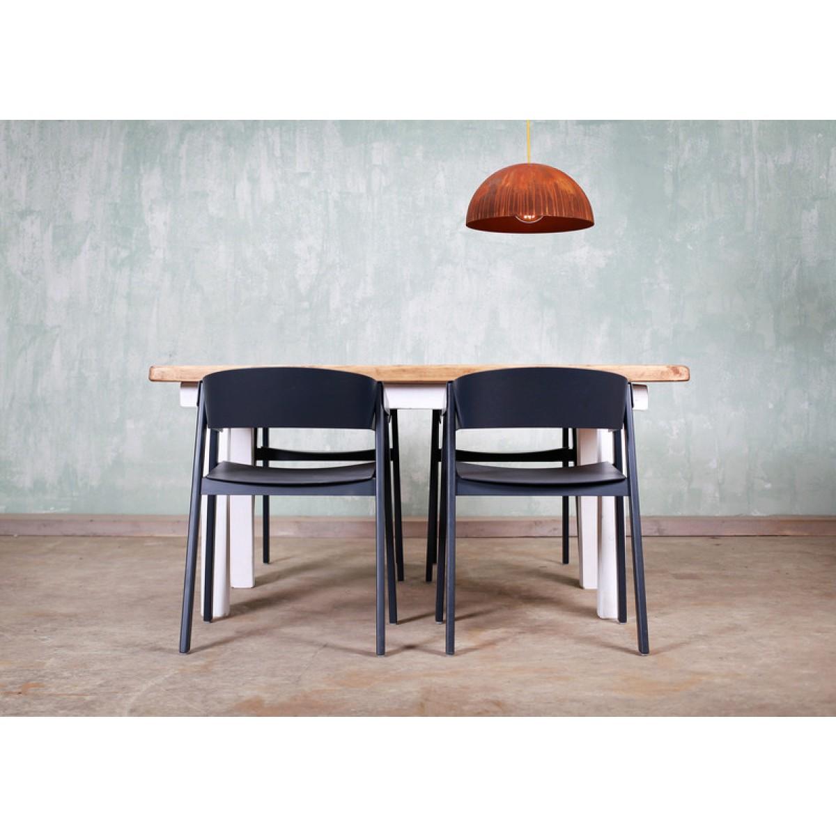 Tisch im Landhaus-Stil aus Bauholz Jasmijn 170x90