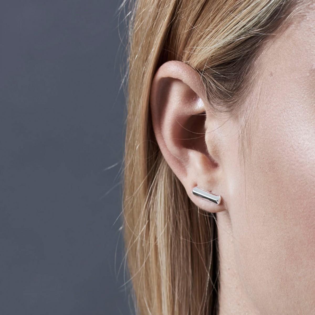 Jasmina Jovy Jewellery Hidden Faces Ohrringe EAHF02 silver