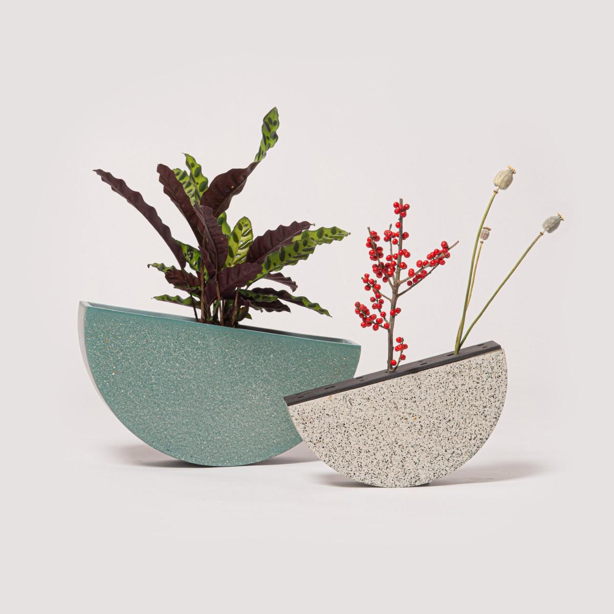 SeeSaw klein — Beton Gefäß/Vase — Von Morgen