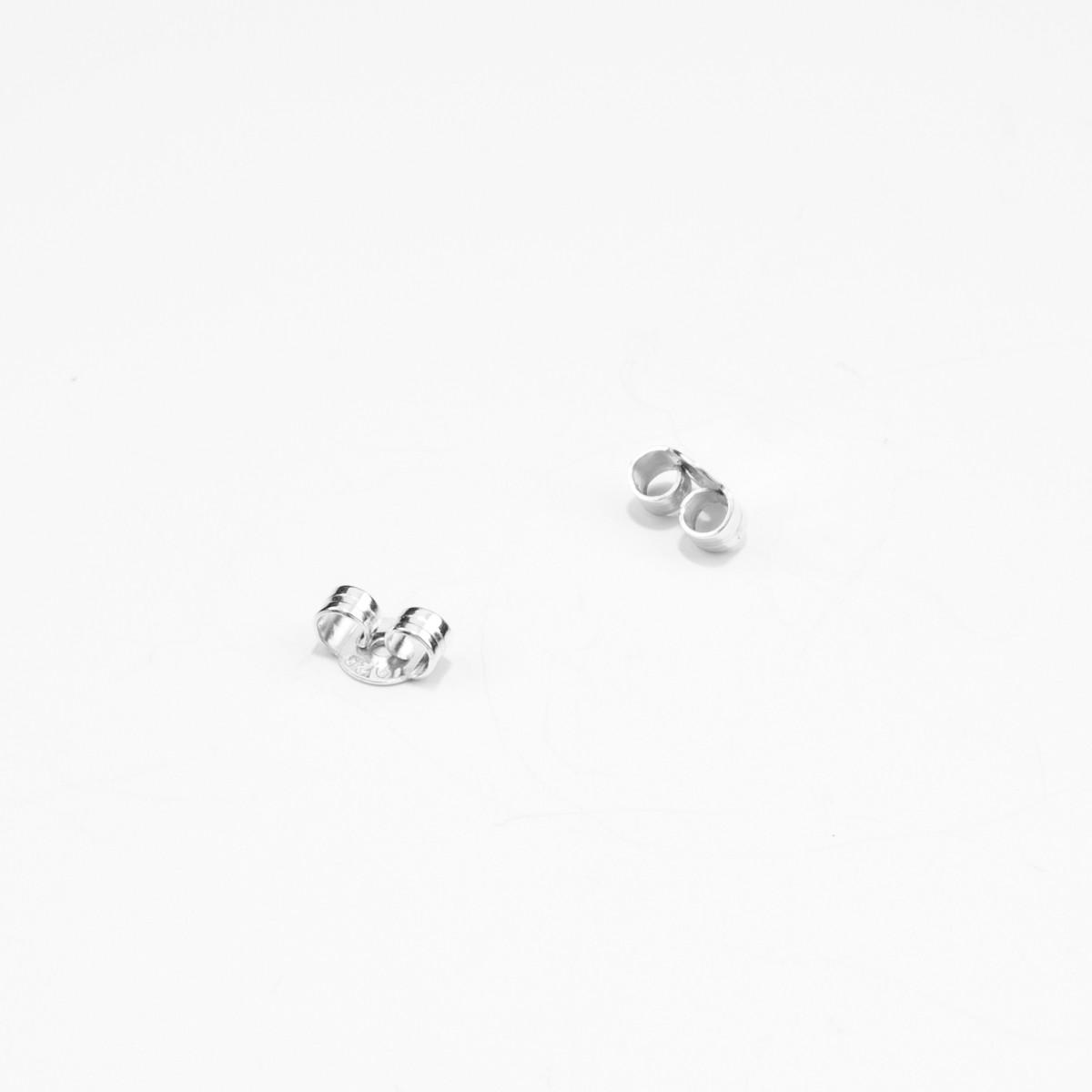 Jonathan Radetz Jewellery ,Stecker SPIRAL 30mm, Silber 925