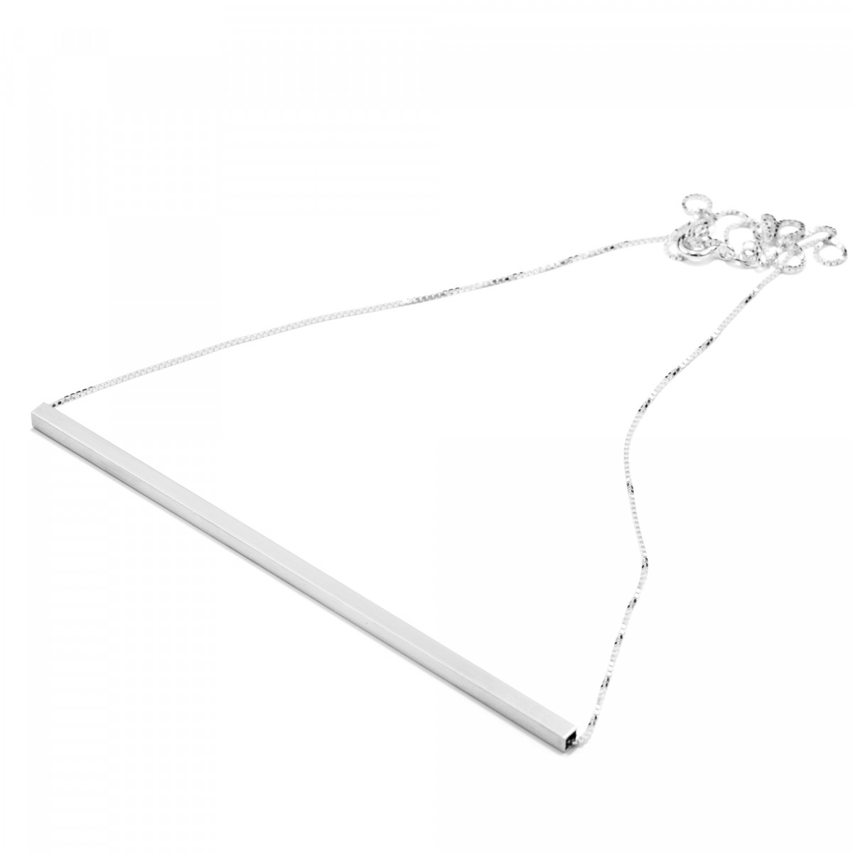 Jonathan Radetz Jewellery, Kette SQUARE, Silber 925, Sterlingsilber, Handmade in Germany