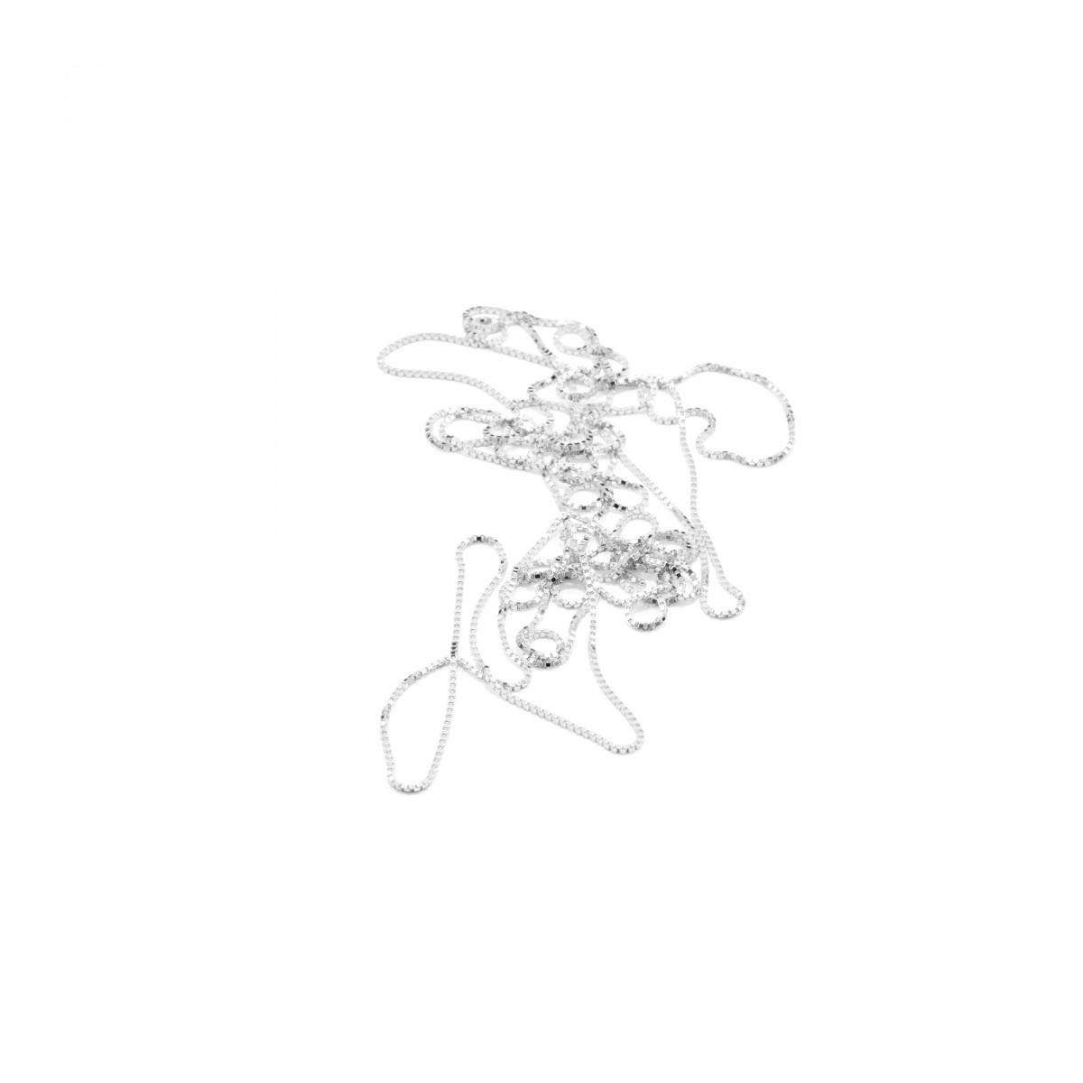 Jonathan Radetz Jewellery Kette fineENDLESS, Silber 925, Sterlingsilber, Länge 120 cm, nahtlos, Handmade in Germany