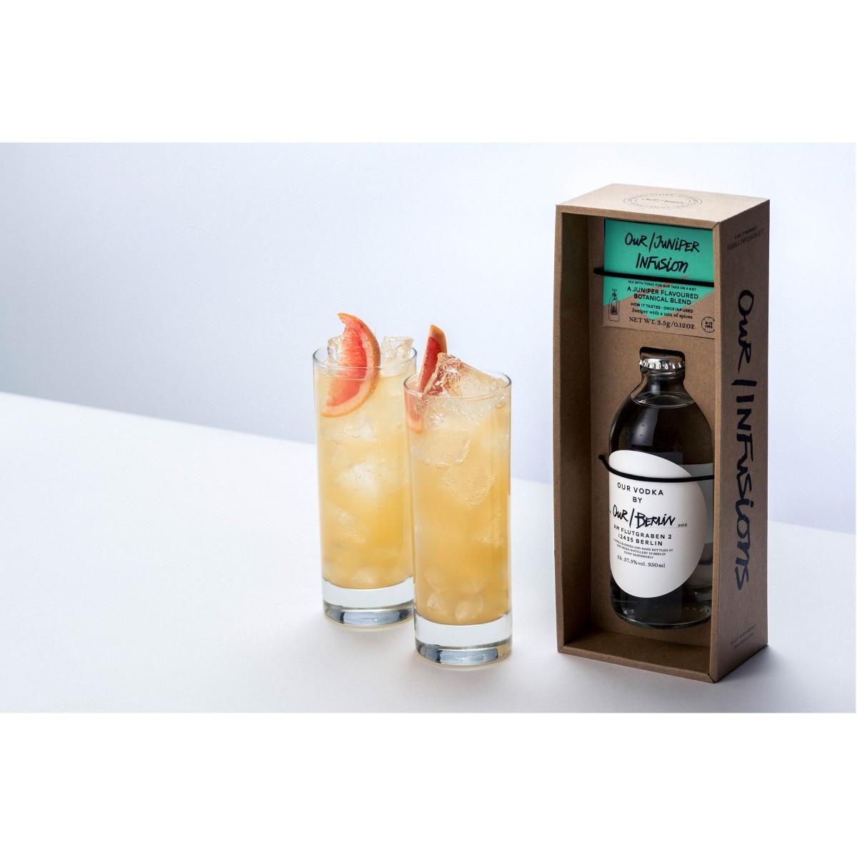 Vodka Infusion Kit - Juniper