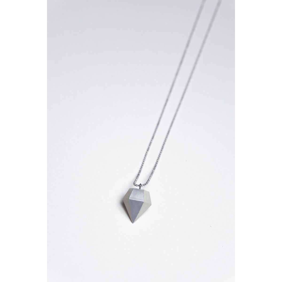 Klunkergrau | Dünner Klunker - Diamant aus Beton