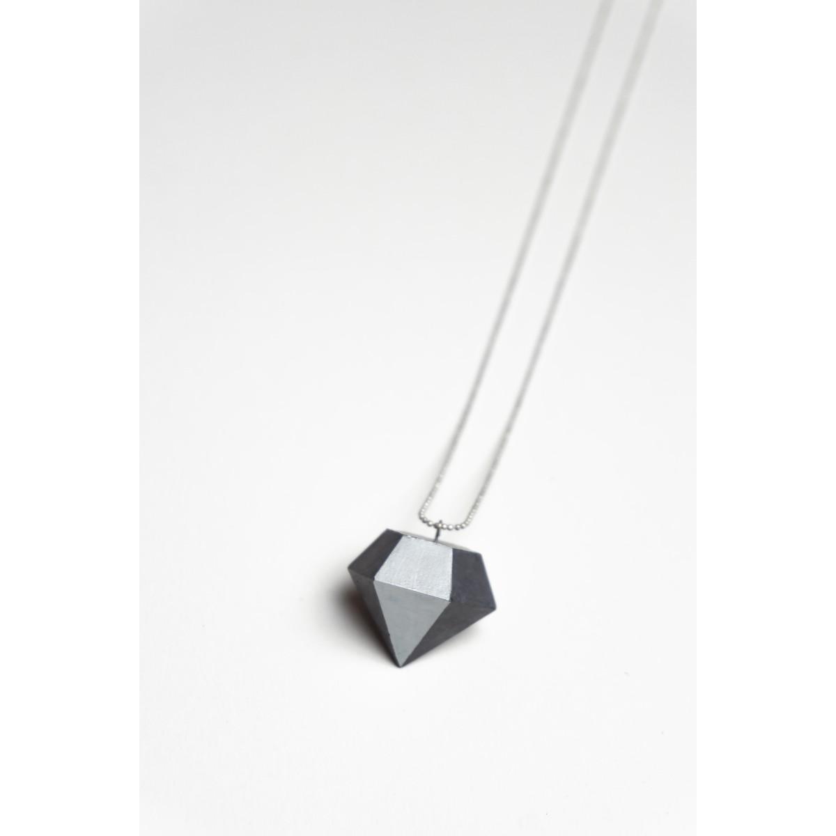 Klunkergrau | Dicker Klunker - Diamant aus Beton