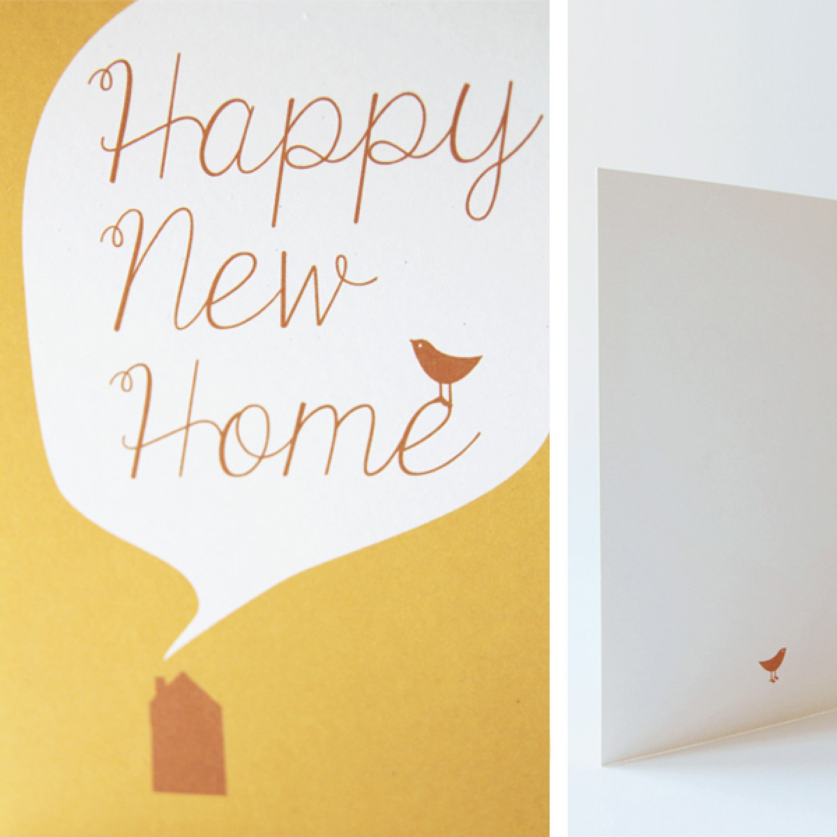 "Klappkarte Umzug ""Happy New Home"""
