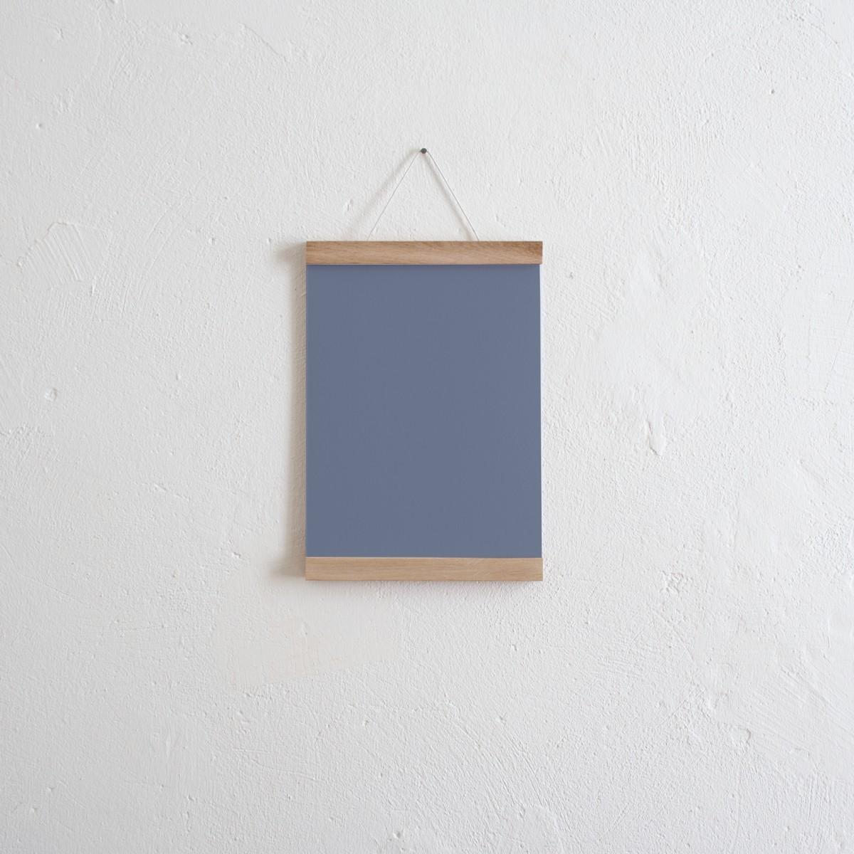 Magnetische Posterleiste / Bilderleiste Eiche A4