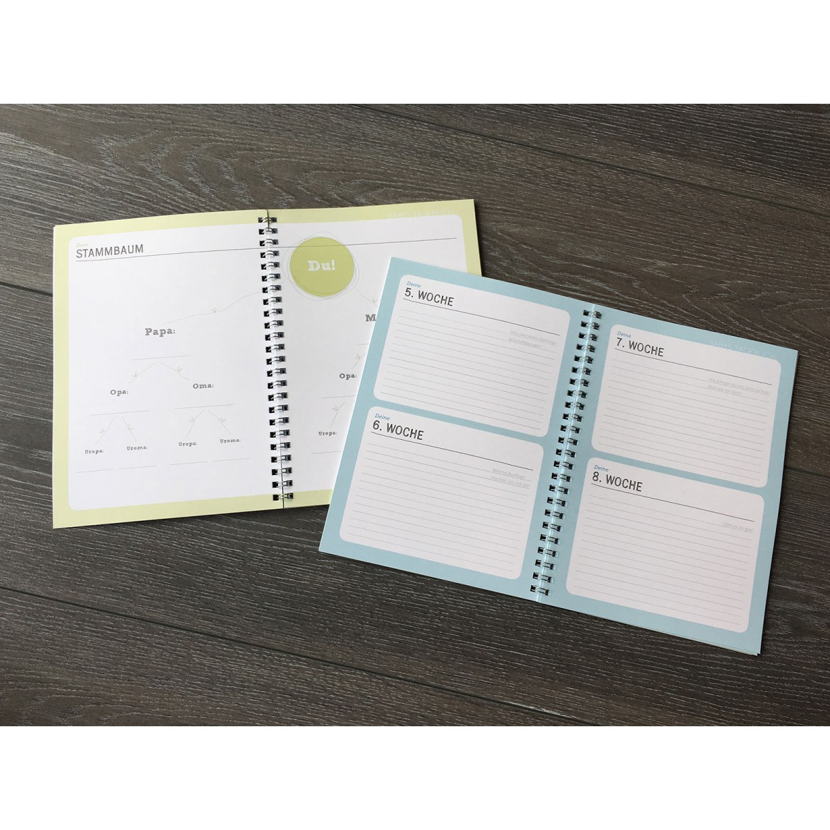 Baby Tagebuch | Baby Kalender zur Geburt