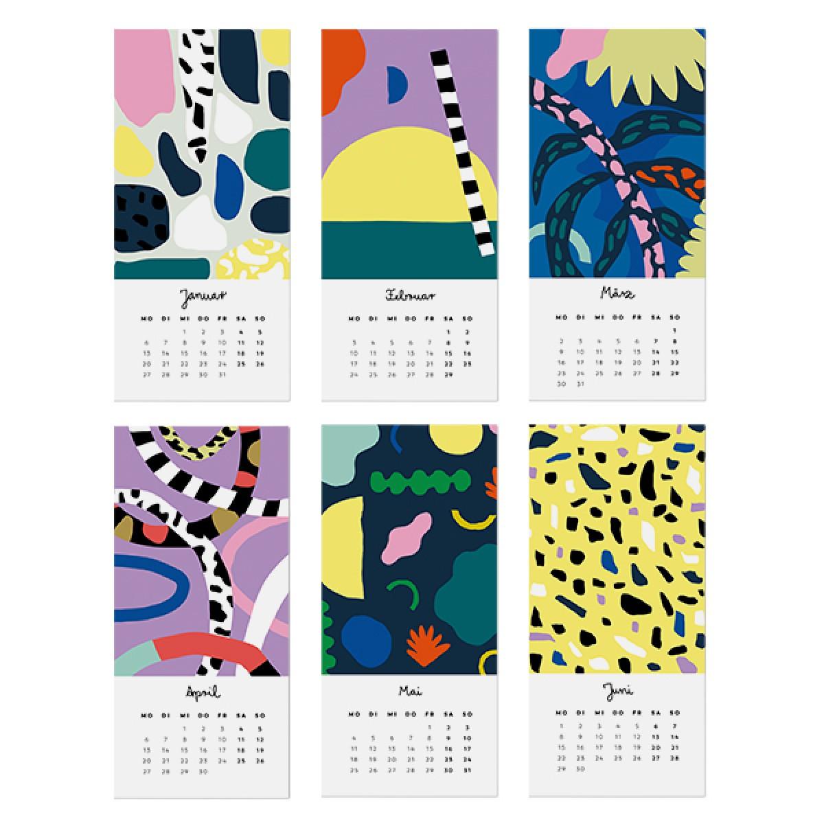 UNTER PINIEN – Jahreskalender 2020