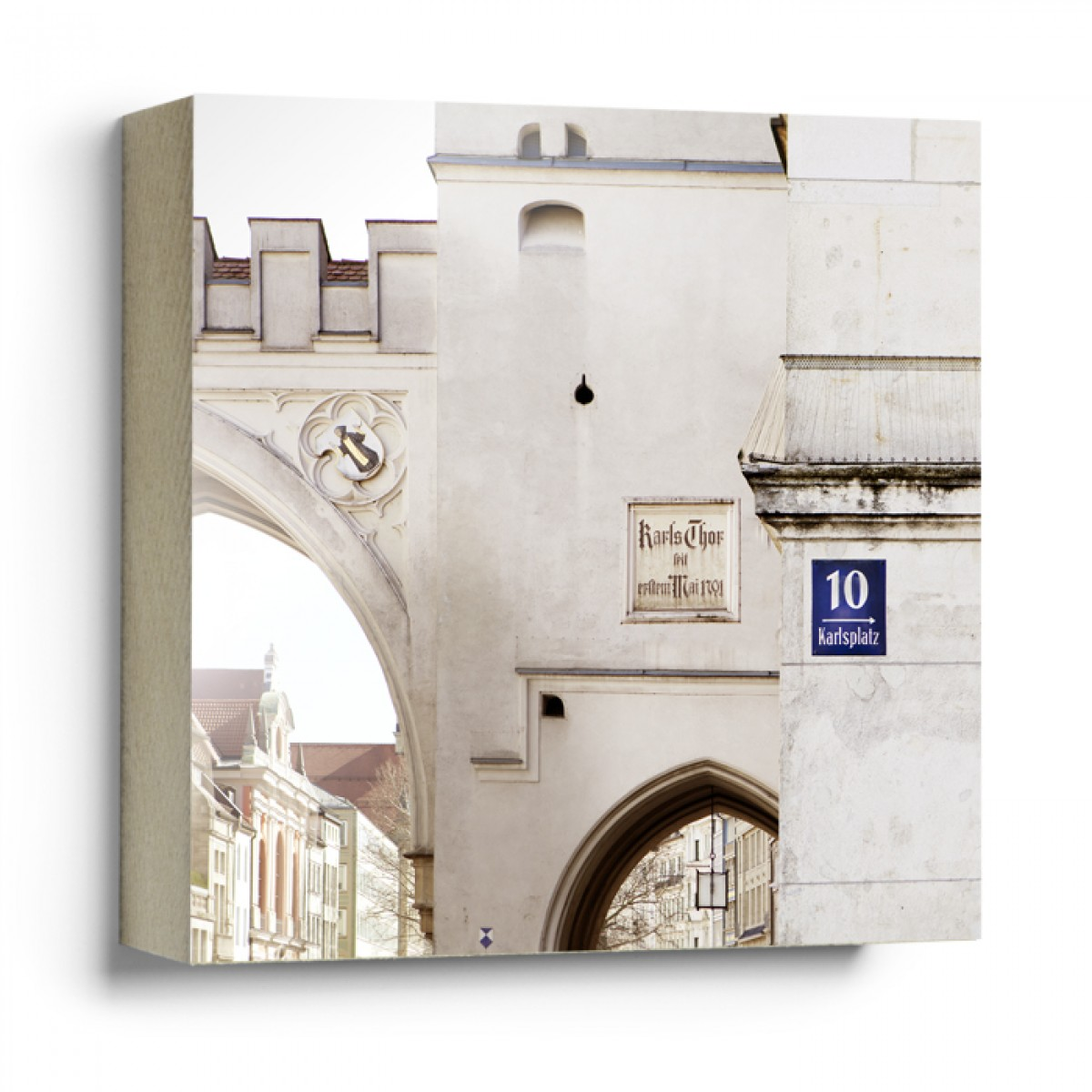 "München im Quadrat - ""Karlsplatz"""