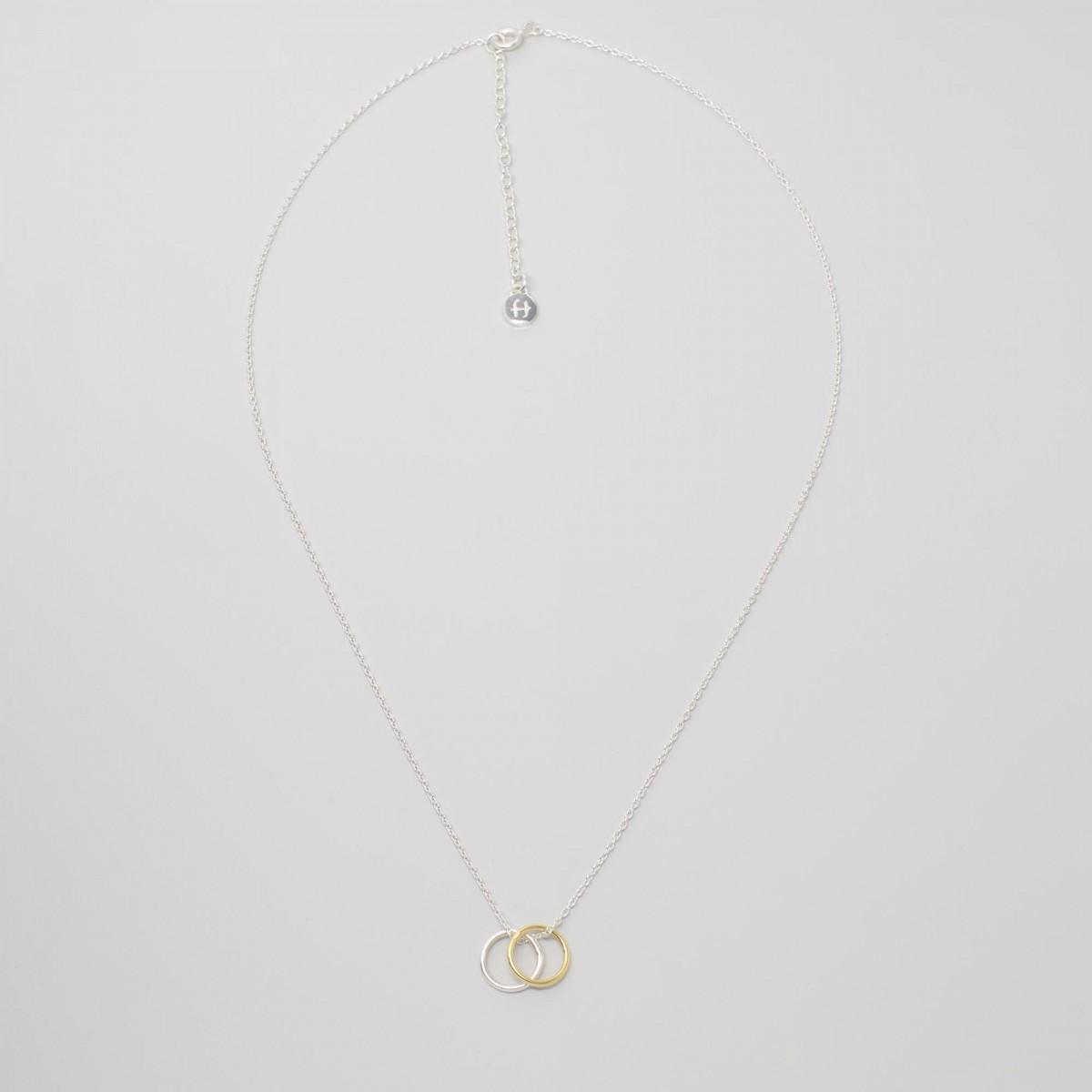 fejn jewelry - Kette 'bicolor circle'