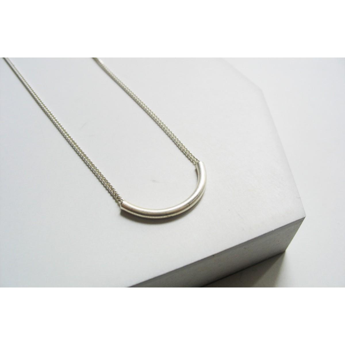"puur.jewellery Kette ""curve no.3"""