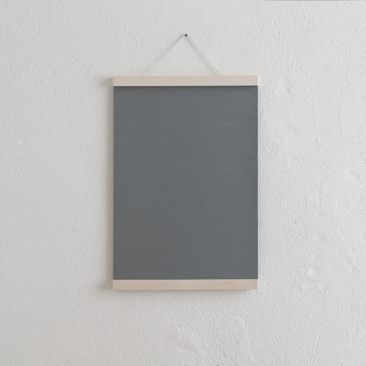 KLEINWAREN / VON LAUFENBERG Magnetische Posterleisten / Bilderleiste Ahorn A3