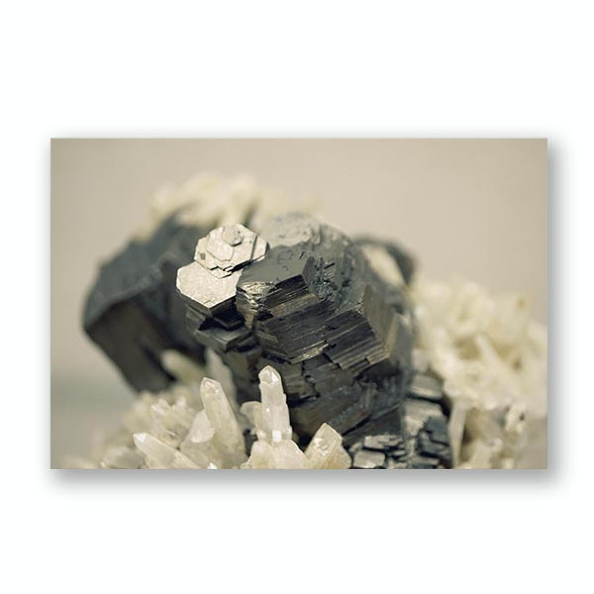 "ZEITLOOPS ""Kristall I"", Fineartprint 40x60 cm"