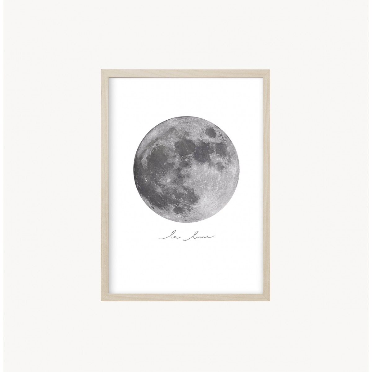 Kruth Design POSTER / LA LUNE