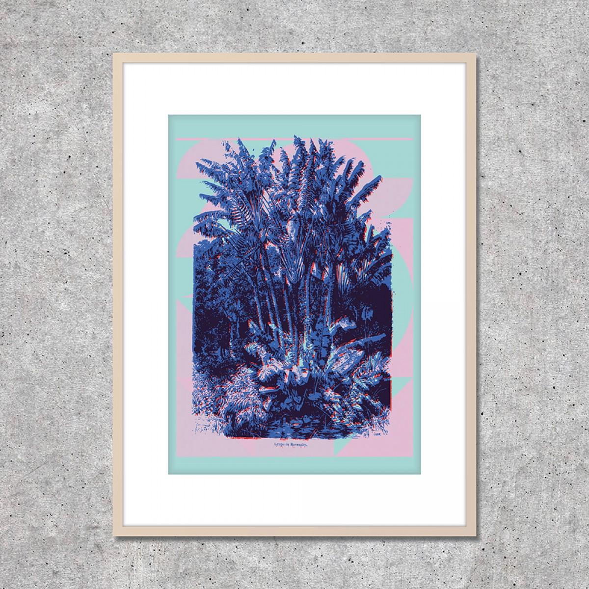 """Look at me! Fine Art Print """"Curaçao"""" (DIN A2)"""