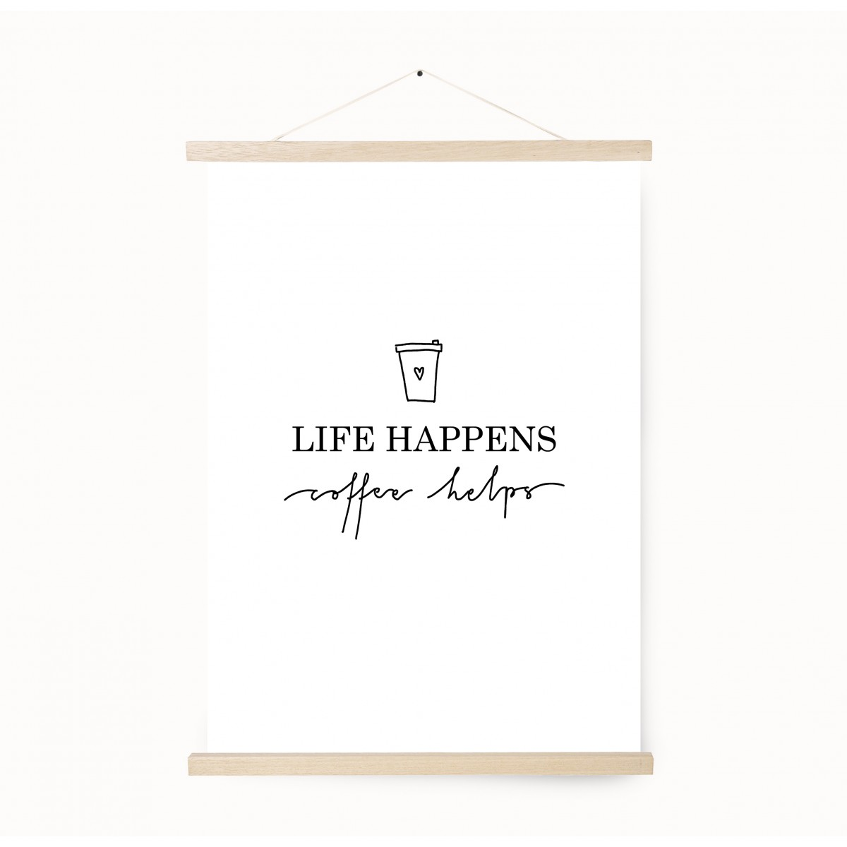 Kruth Design POSTER / LIFE HAPPENS