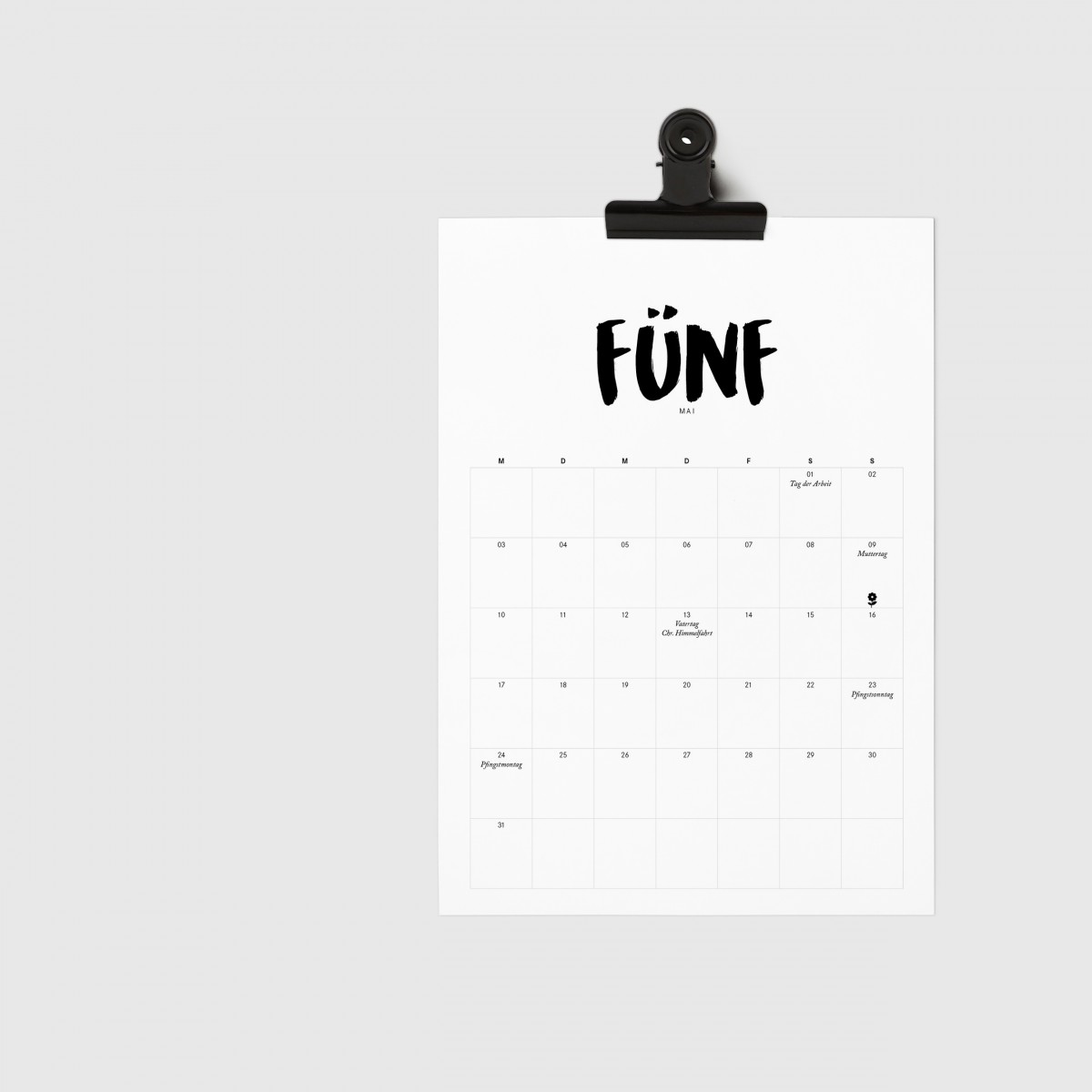 Love is the new black –   Kalender 2021