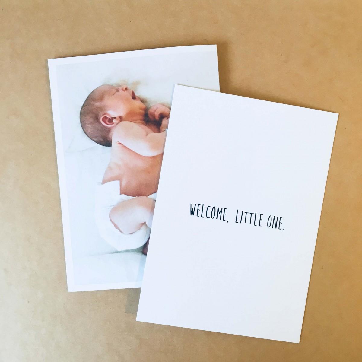 """Postkarten-Set """"Baby"""""""
