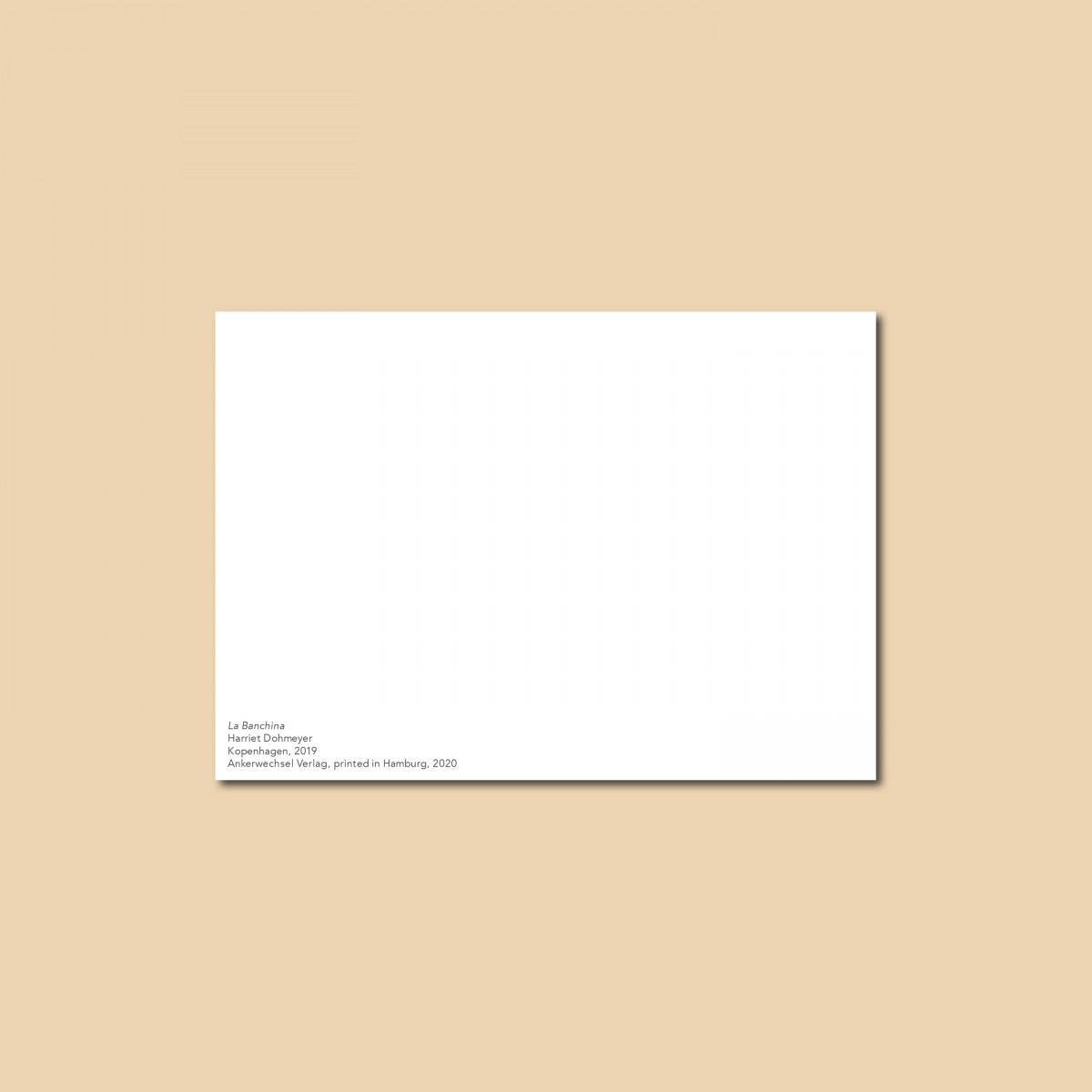 'La Banchina' Postkarte, DIN A6, klimaneutral gedruckt / Ankerwechsel Verlag