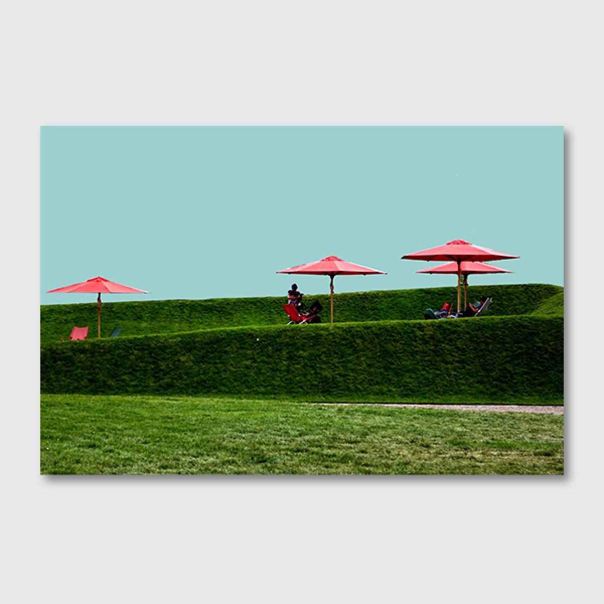 """ZEITLOOPS """"Landesgartenschau II"""", Posterprint 40x60 cm"""