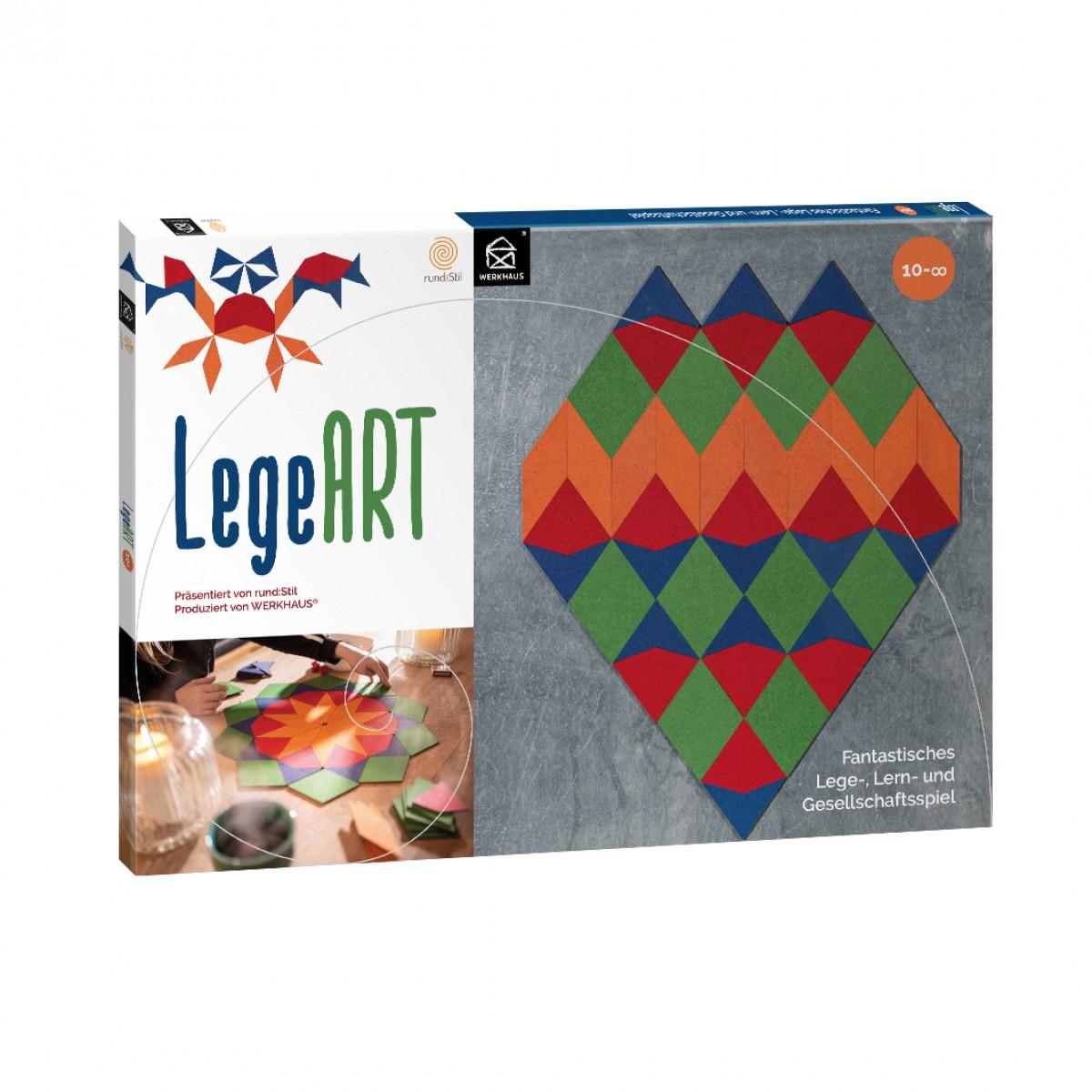 LegeART. Fantastisches Lege-,Lern- und Gesellschaftsspiel
