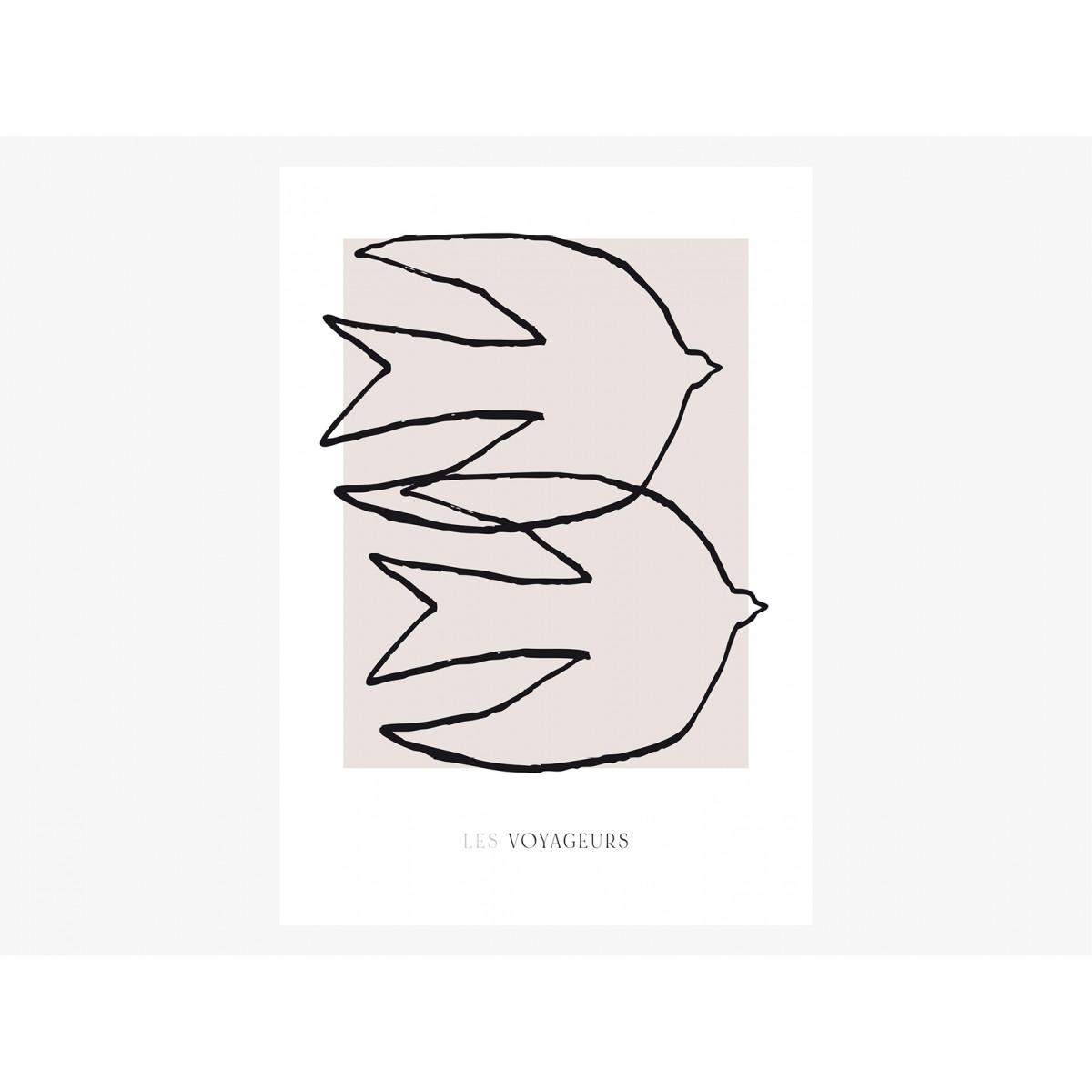 typealive / Print / Les Voyageurs No. 1