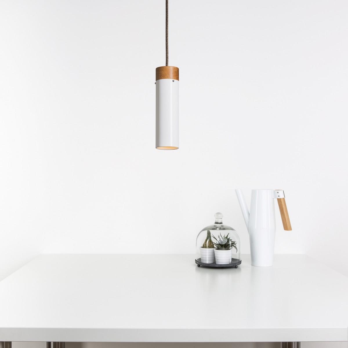 Lichtliebe – Pendelleuchte Tula weiß
