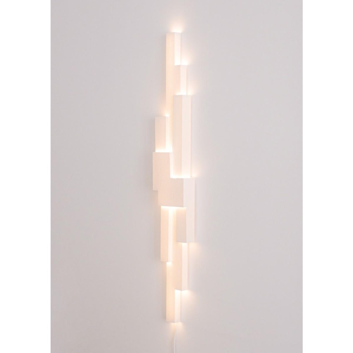 LightFold W1 - Handgefaltete Wandleuchte aus einem Bogen Papier - Paul van Laar Design