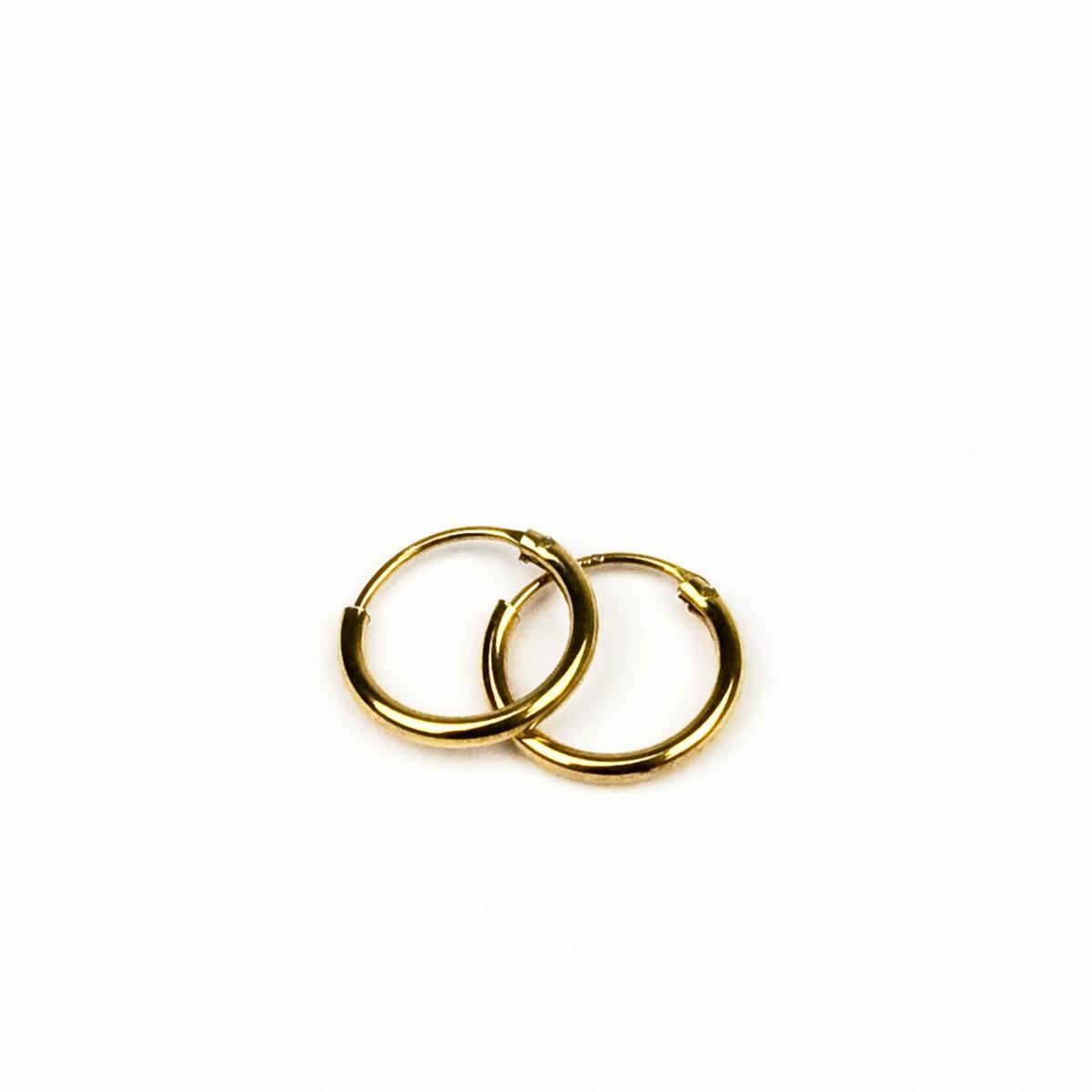ST'ATOUR MAGDA – Creolen 10 mm in Silber // Gold // Roségold