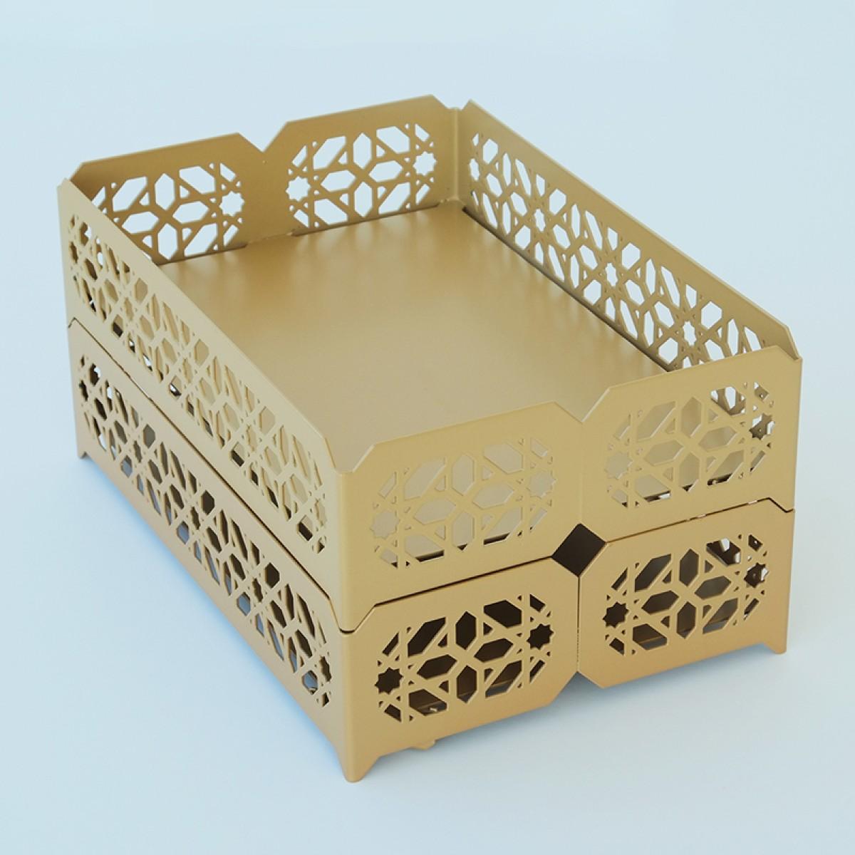 Deck5 - Marokko Ablage A4, gold