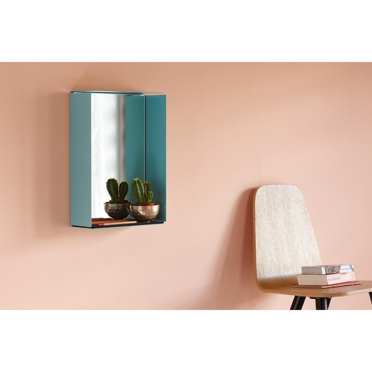 Konstantin Slawinski MIRROR-BOX Spiegelschrank (pastelltürkis)