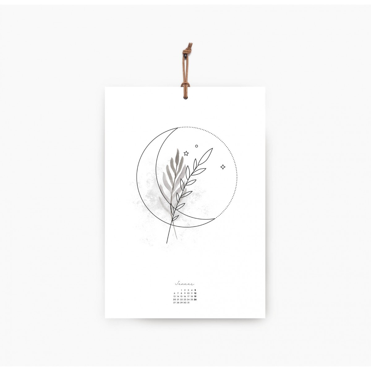 Kruth Design KALENDER 2020 / MOON