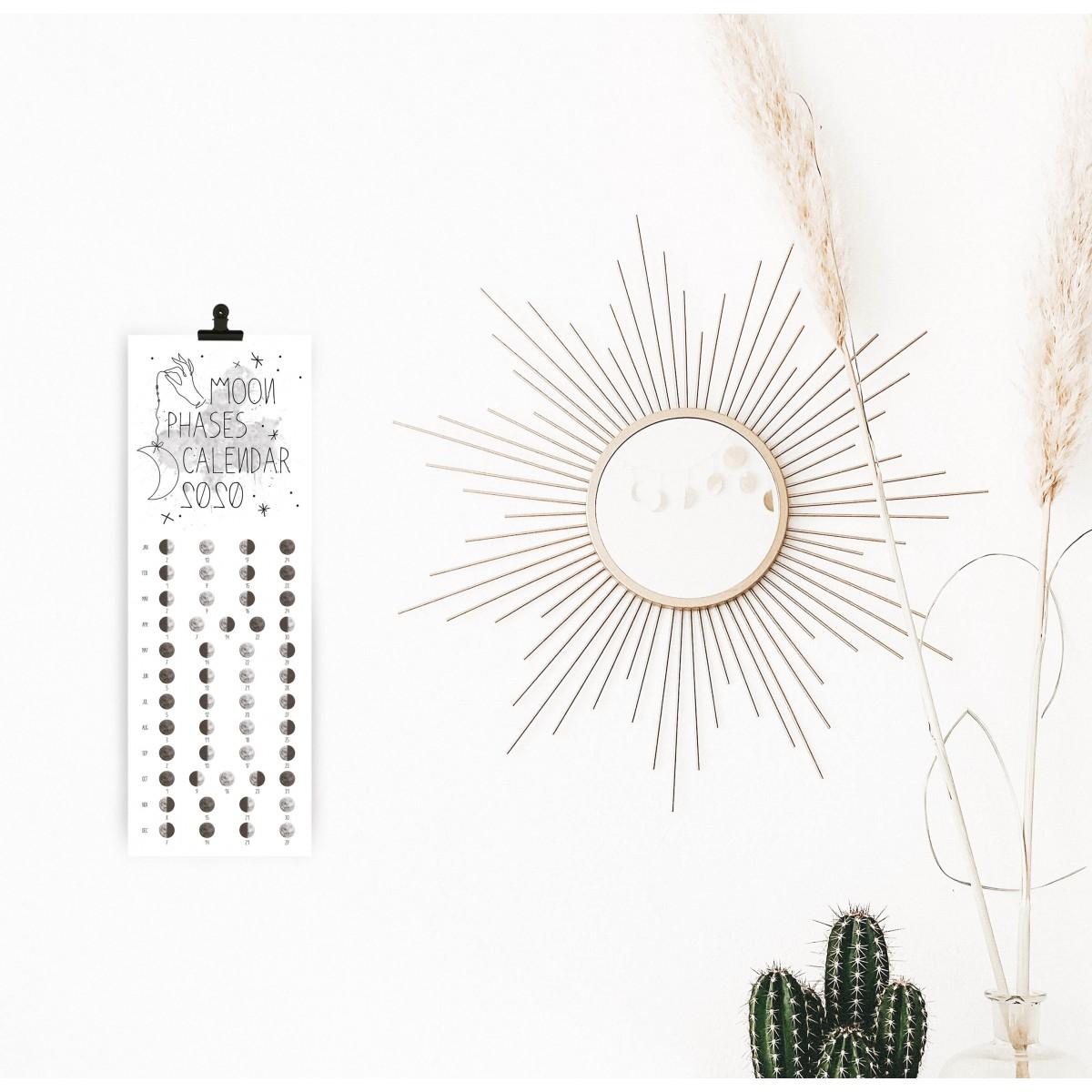 Kruth Design MOND KALENDER 2020 / TYPO