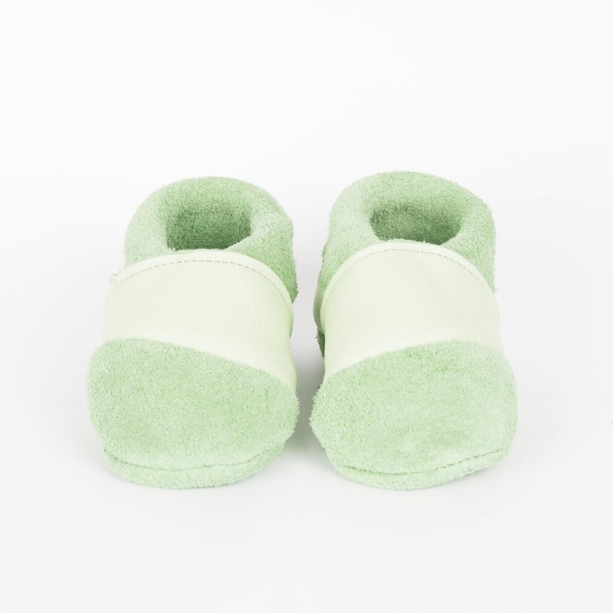 BABYSCHUHE MOQ // Mint