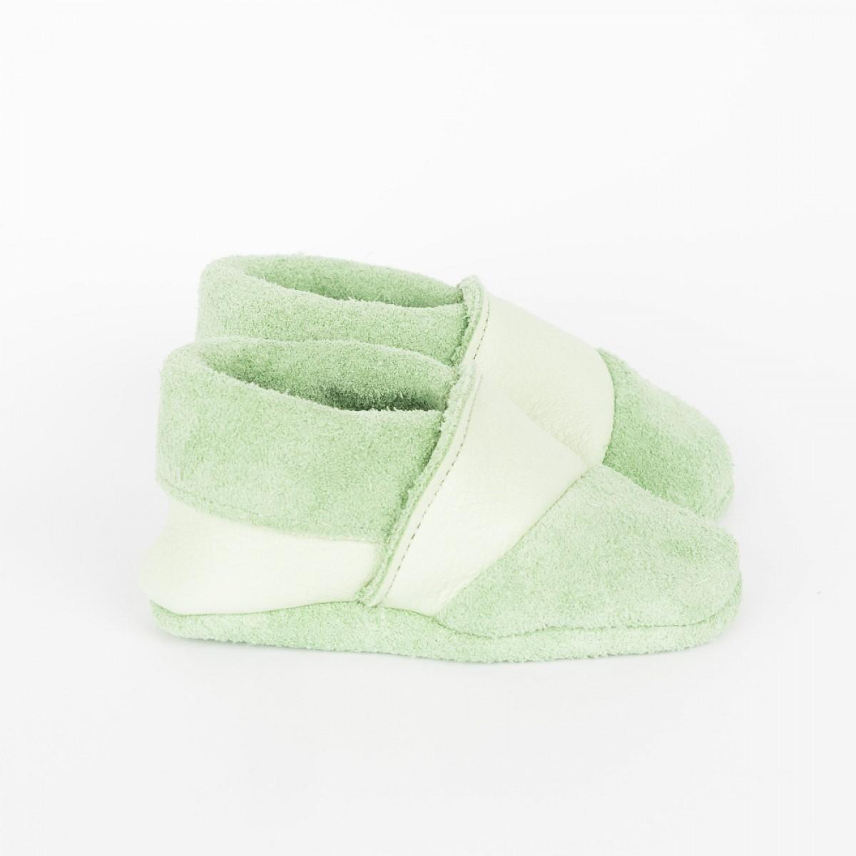 Franziska Klee Babyschuhe MOQ // Mint