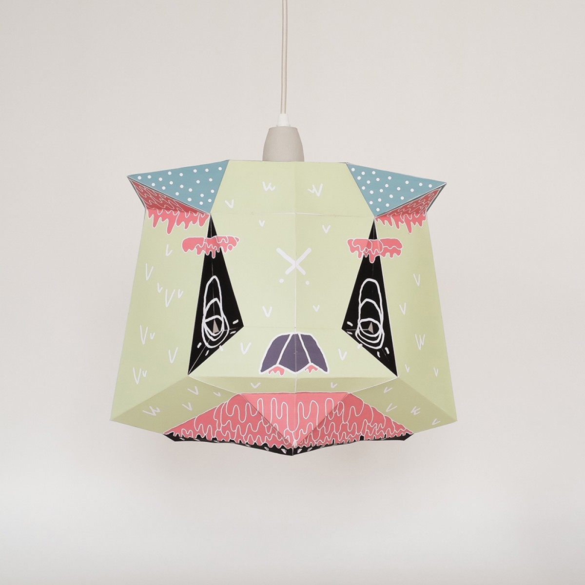 Chapa Large X BOICUT – Ein Lampenschirm, ein Poster oder etwas Anderes