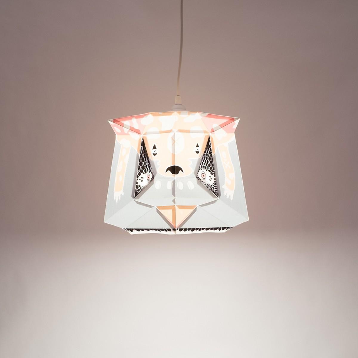 Chapa Medium X BOICUT – Ein Lampenschirm, ein Poster oder etwas Anderes... Du machst es selbst !