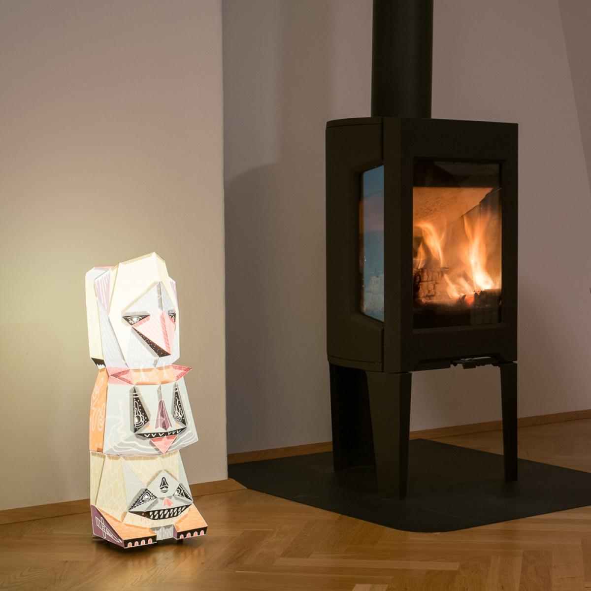 Gnaska X BOICUT – Ein Lampenschirm, ein Poster oder etwas Anderes... Du machst es selbst !