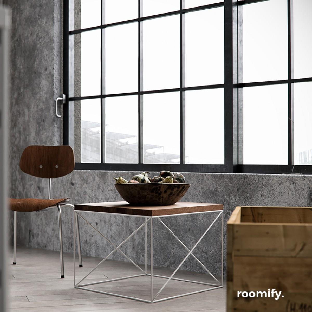 roomify Beistelltisch MUNIO Farben: black&white