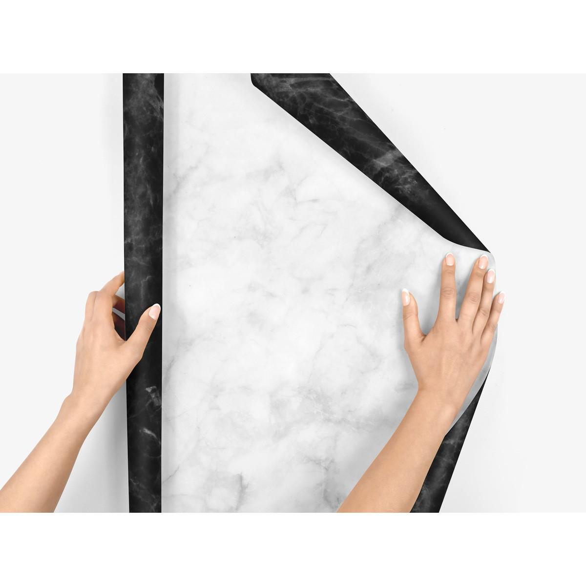 5x Geschenkpapier / Marble (gefaltet)