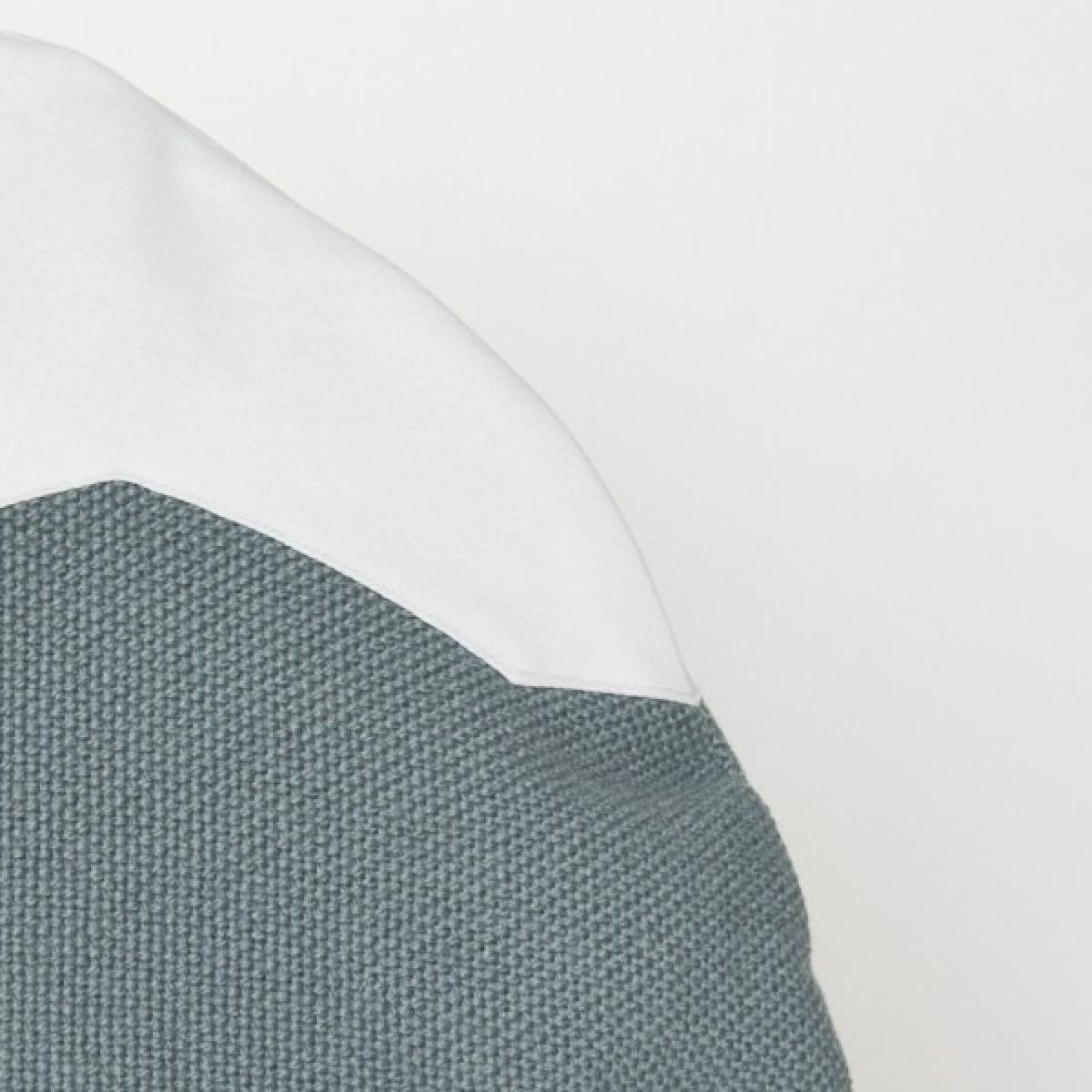 Markrún Herdubreid Bergkissen Grau-Blau