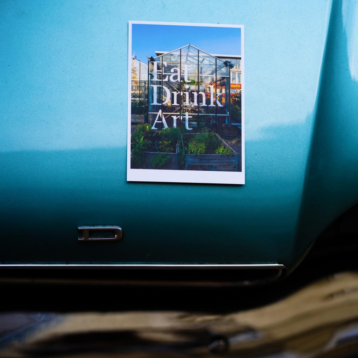 'Mediamatic Eten' Postkarte, DIN A6, klimaneutral gedruckt / Ankerwechsel Verlag