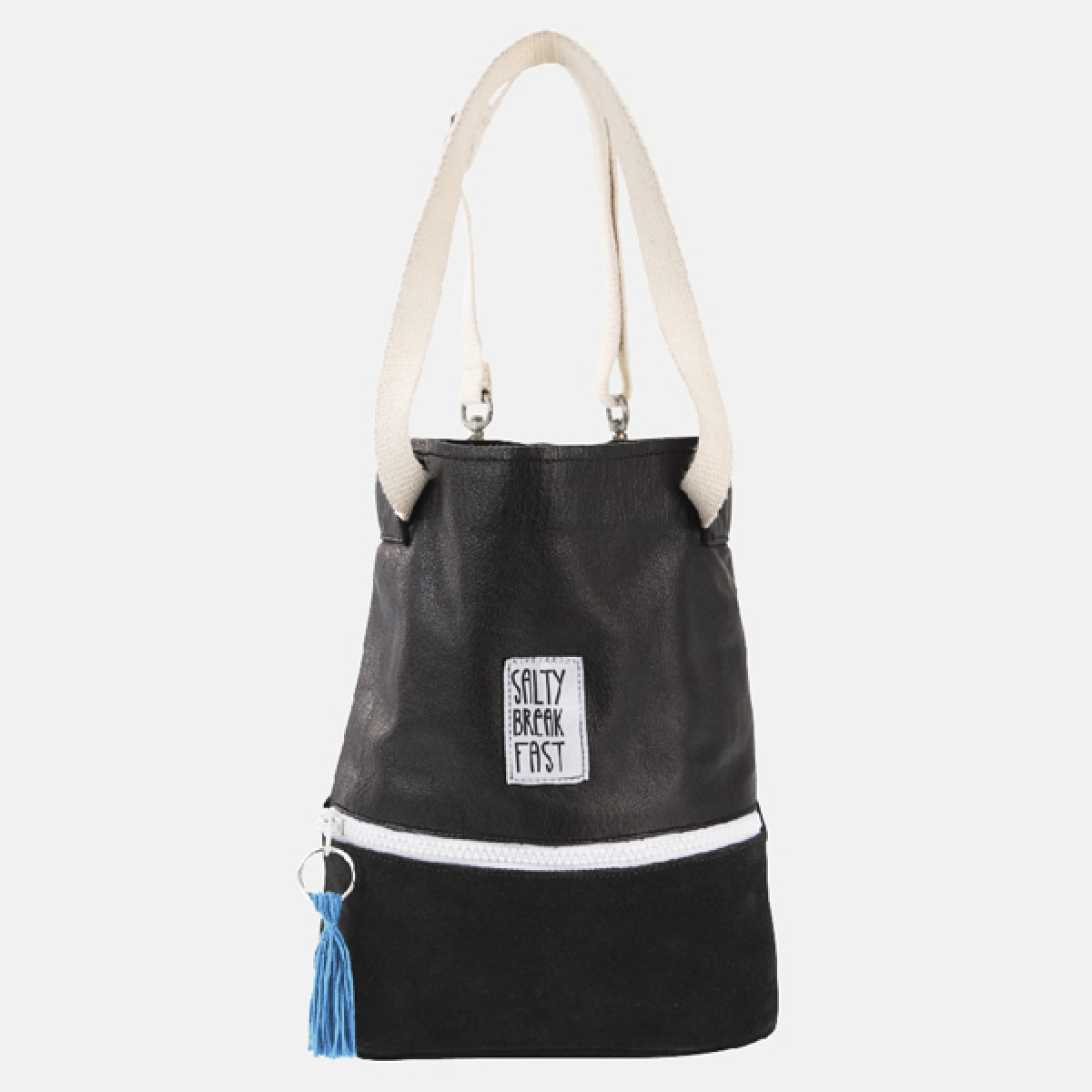Miss Salty_Kleiner Leder Rucksack/ Tasche