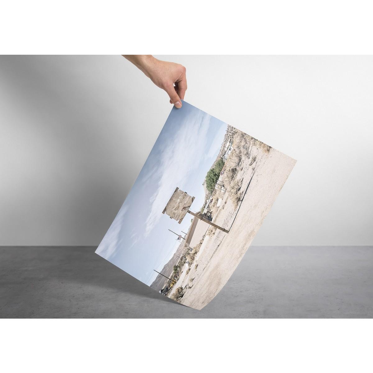 JOE MANIA / Modern Artprint Poster / Streetball Courts 2 (California, USA) DIN A4 - A0
