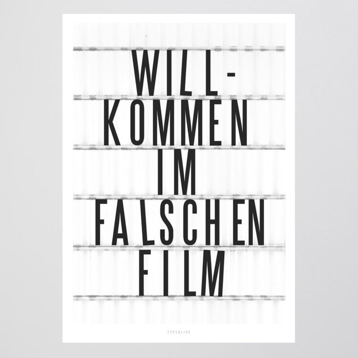 typealive / Falscher Film