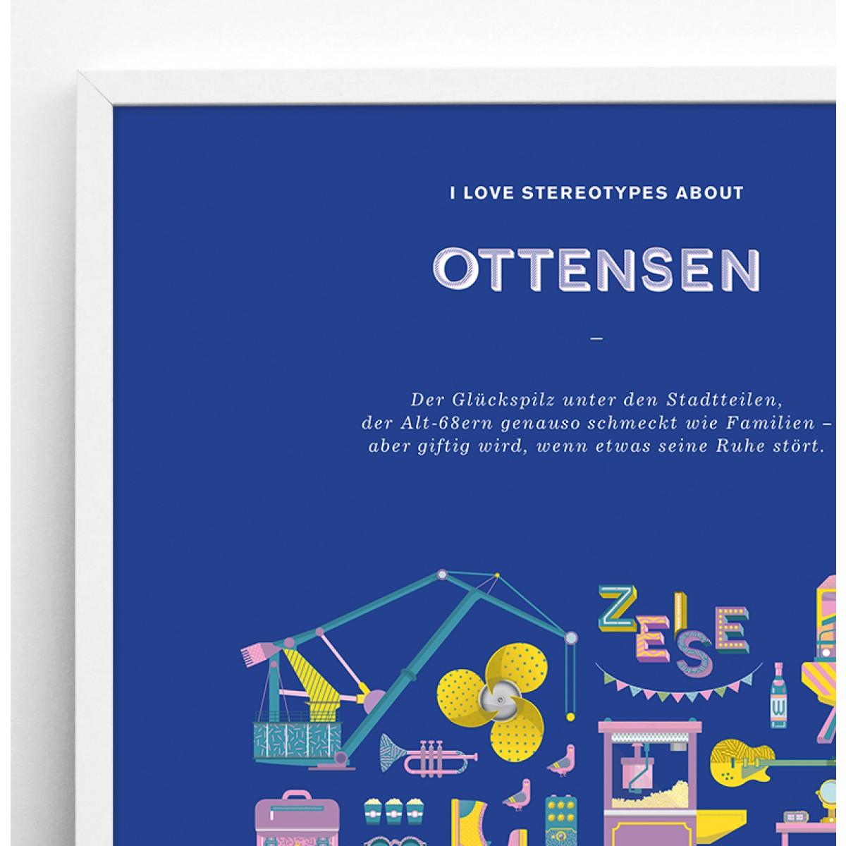 Stadtteil Plakat Ottensen