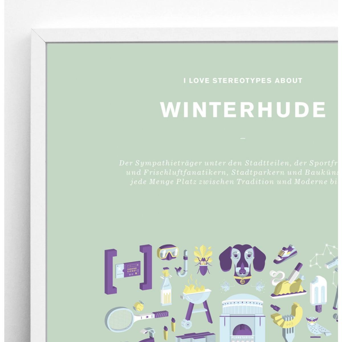 Bureau Bald Stadtteil Plakat Winterhude Redesign 2019