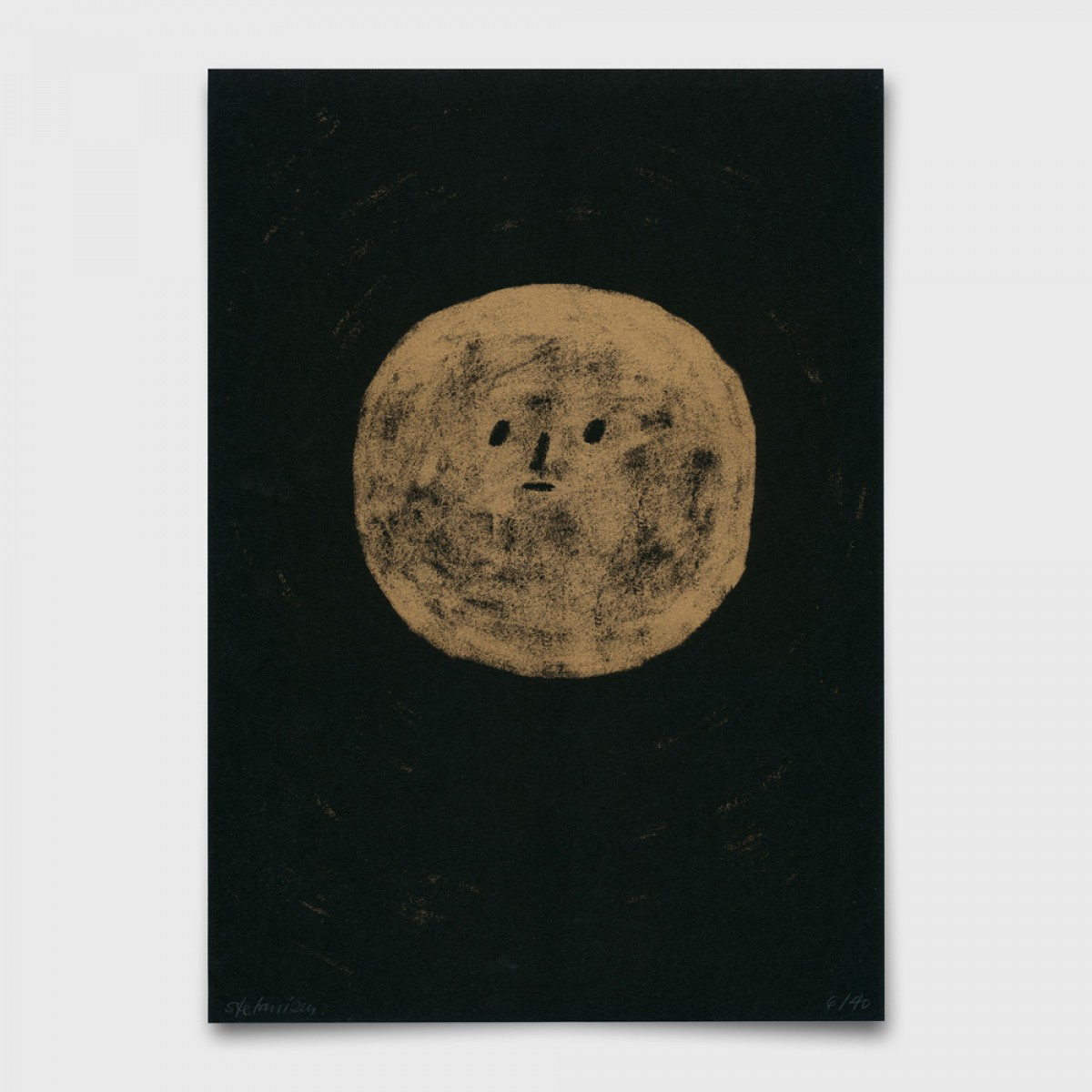 Stefanizen – 'Mond' A4 Riso Print